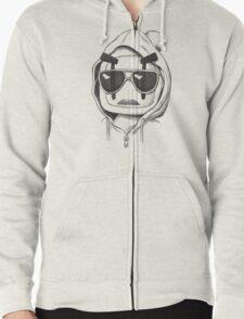 Una-Bomberman Zipped Hoodie