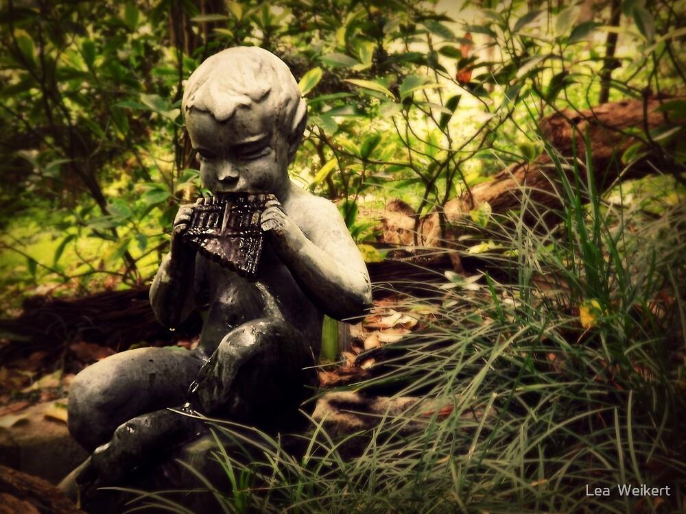 Pan's Garden by Lea  Weikert