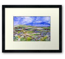 Springtime in the Valley Framed Print
