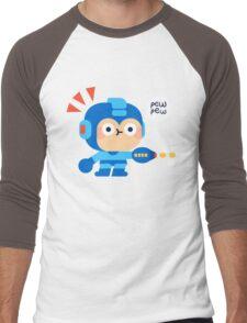 Pew Pew Men's Baseball ¾ T-Shirt