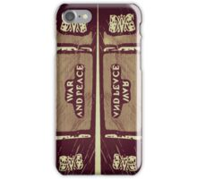 """War and Peace"" (C) iPhone Case/Skin"