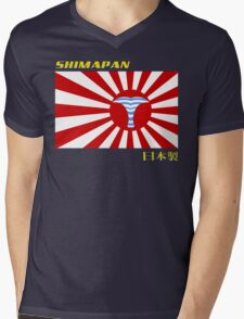 Shimapan -Made in Japan Mens V-Neck T-Shirt