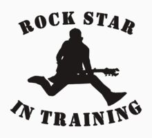 Rock Star In Training Kids Clothes