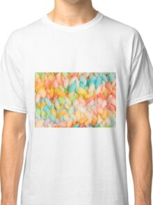 Bright knit background Classic T-Shirt