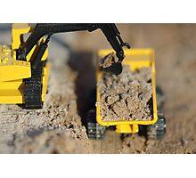 Toy trucks 1 of 12 Photographic Print
