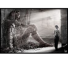 Cyberpunk Photography 009 Photographic Print