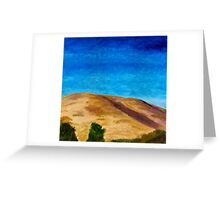 Chiltern Hills Greeting Card