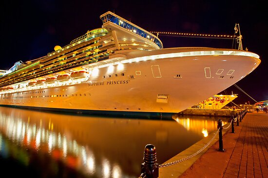 Sapphire Princess Take Me Away!! by Wendi Donaldson