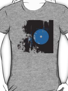 Faded Vinyl Blue T-Shirt