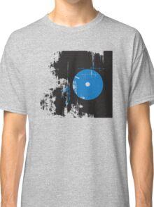 Faded Vinyl Blue Classic T-Shirt
