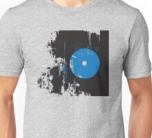 Faded Vinyl Blue Unisex T-Shirt