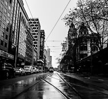 Melbourne Streets by David Petranker