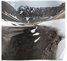 Snowy sediment Poster