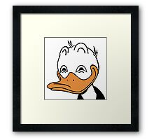 Dafted Duck Framed Print