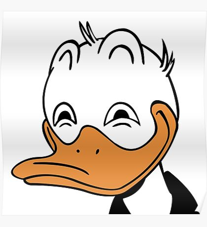 Dafted Duck Poster