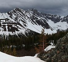 Snowy Highwood pass  by zumi