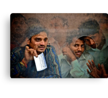 About this Ticket Canvas Print