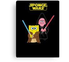 Sponge Wars Canvas Print