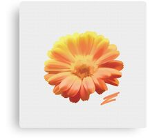 Dahlia Painting Canvas Print
