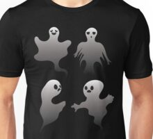 Spooky Ghosts Unisex T-Shirt