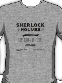 Sherlock Holmes' Business Card T-Shirt