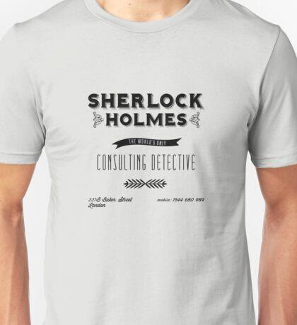 Sherlock Holmes' Business Card Unisex T-Shirt