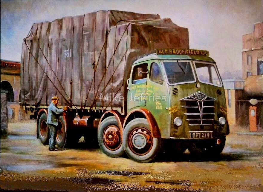 Foden FG in the rain. by Mike Jeffries