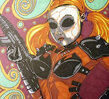 DollFace from Twisted Metal by dragon102681