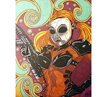 DollFace from Twisted Metal Photographic Print