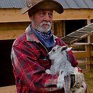 Alaskan farmer,Yukon Trail, Skagway, Alaska, 2012.  by johnrf