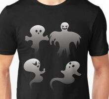 Spooky Ghosts 2 Unisex T-Shirt