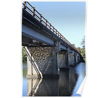 The Old Coomera River Bridge Poster