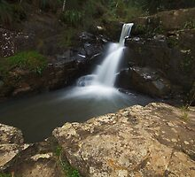 Hogsback Waterfall by Kenji Ashman