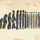 Barcode Evolution by Richard Davis