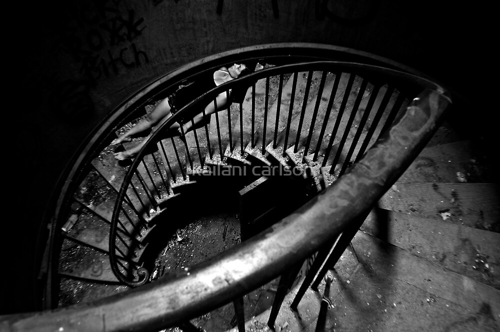 Fallen Jezebel- Self Portrait Abandoned Mansion, NY by MJD Photography  Portraits and Abandoned Ruins