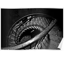 Fallen Jezebel- Self Portrait Abandoned Mansion, NY Poster