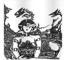 Mechanoid Planet Poster