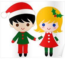 Christmas Couple  Poster
