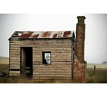 Foggy History, Sunbury, Victoria, Australia Photographic Print