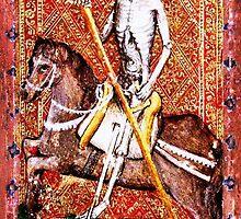 Medieval Death painting by Vintage Designs