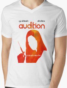 Audition/Ôdishon/オーディション Mens V-Neck T-Shirt