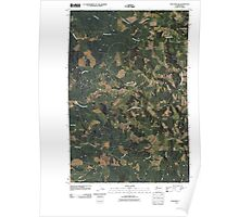 USGS Topo Map Washington State WA Onalaska NW 20110405 TM Poster