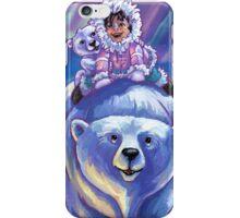 Polar Bear Bus iPhone Case/Skin