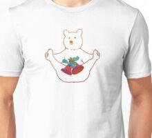 Flashy festive bear Unisex T-Shirt