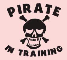 Pirate In Training Kids Tee