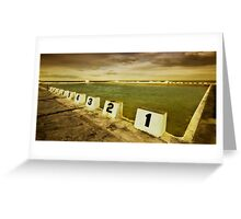 Merewether Ocean Baths 01 Greeting Card