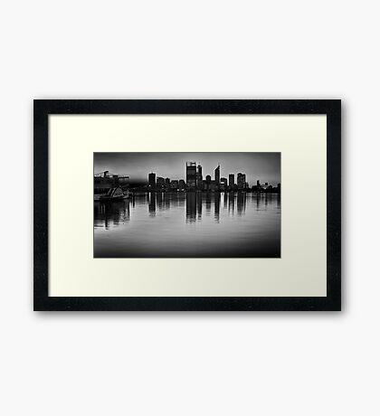 The Decoy - Perth, Western Australia Framed Print