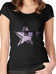 Urban Star Women's Fitted Scoop T-Shirt