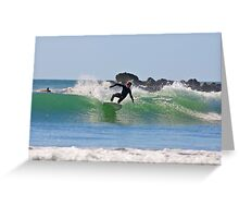 Cutback - Agnes water point - Australia Greeting Card