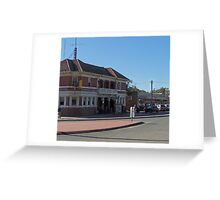 Tocumwal Hotel NSW Australia Greeting Card